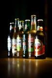 Diversas cervezas Fotos de archivo