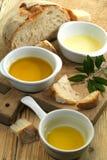 Diversas clases de aceite de oliva Imágenes de archivo libres de regalías