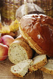 Diversas clases de pan imagen de archivo