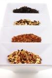 Diversas clases de té. Imagenes de archivo