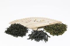 Diversas clases de té chino imagen de archivo libre de regalías