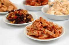 Diversas comidas Fotografía de archivo libre de regalías