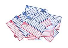 Diversas etiquetas genéricas do enviamento imagem de stock royalty free