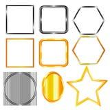 Diversas formas de las figuras Foto de archivo libre de regalías