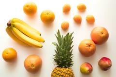 Diversas frutas frescas imagen de archivo libre de regalías
