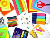 Diversas fuentes de escuela Imagen de archivo libre de regalías