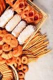 Diversas galletas Foto de archivo libre de regalías