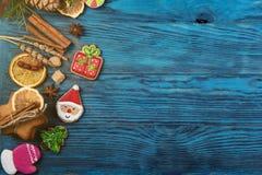 Diversas galletas del jengibre Imagen de archivo
