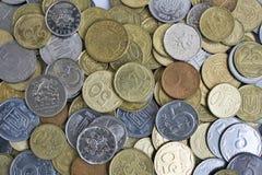 Diversas monedas Fotos de archivo libres de regalías