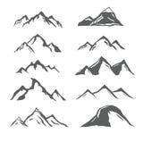 Diversas montañas libre illustration