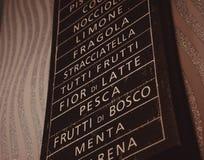 Diversas muestras de los cafés imagen de archivo
