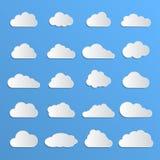 Diversas nubes Imagen de archivo