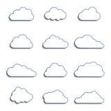 Diversas nubes Fotografía de archivo