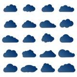 Diversas nubes Fotos de archivo