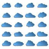 Diversas nubes Imagenes de archivo