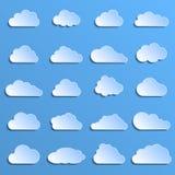 Diversas nubes Imagen de archivo libre de regalías
