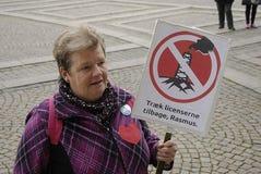 DIVERSAS REUNIONES DE LA PROTESTA Foto de archivo