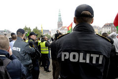 DIVERSAS REUNIONES DE LA PROTESTA Fotos de archivo