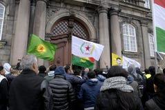 DIVERSAS REUNIONES DE LA PROTESTA Imagen de archivo