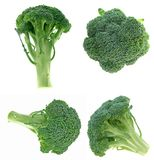 Diversas vistas de broccolis Fotografía de archivo libre de regalías