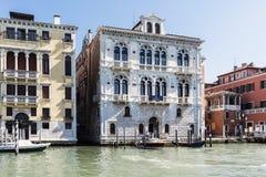 Diversas vistas de la ciudad turística de Venecia, Italia foto de archivo