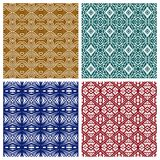 Diverse abstracte patronen Royalty-vrije Stock Afbeelding