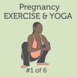 A Diverse African American Young Lady doing her Pregnancy Exerci Royalty Free Stock Photo