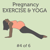 A Diverse African American Young Lady doing her Pregnancy Exerci Royalty Free Stock Photos