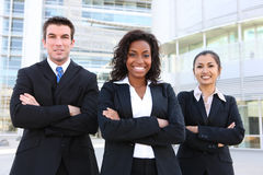 Diverse Attractive Business Team Stock Images