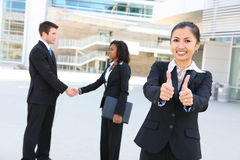Diverse Attractive Business Team Stock Image