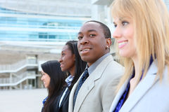 Diverse Attractive Business Team Stock Photos