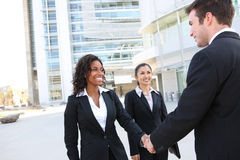 Diverse Attractive Business Team Stock Photography