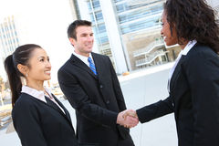 Diverse Attractive Business Team Stock Photo