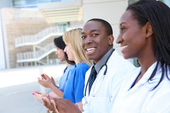 Diverse Attractive Medical Team Stock Image