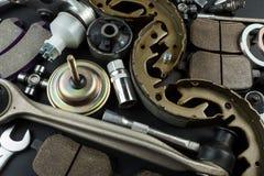 Diverse Autodelen en hulpmiddelen stock foto