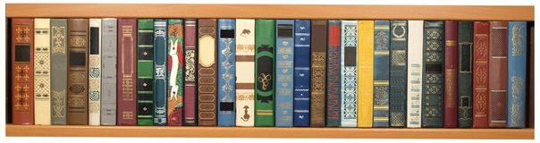 Diverse boeken Royalty-vrije Stock Afbeelding