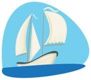 Diverse boten royalty-vrije illustratie