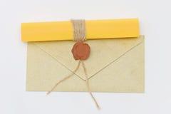Diverse brieven Stock Fotografie