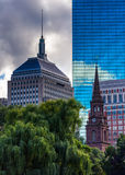 Diverse buildings in Boston, Massachusetts. Stock Photo