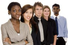 Diverse Business. A diverse business team Royalty Free Stock Images