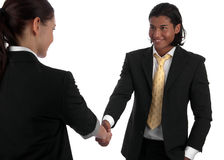 Diverse business handshake Royalty Free Stock Image