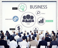 Diverse Business People in a Conference Royalty Free Stock Image