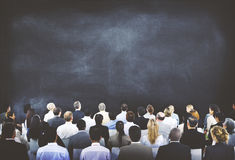 Diverse Business People Conference Audience Concept Royalty Free Stock Photos