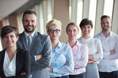 Diverse business people group Royalty Free Stock Photos
