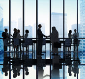 Diverse Business People Handshake Office Concept Royalty Free Stock Photo
