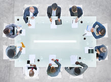 Diverse Business People Having a Meeting in the Office Royalty Free Stock Image