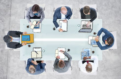 Diverse Business People Having a Meeting in the Office.  Stock Photography