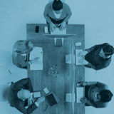 Diverse Business People Having a Meeting Office Concept Royalty Free Stock Image