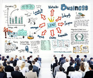 Diverse Business People in a Leadership Training Stock Images