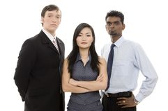Diverse Business Team 1 royalty free stock photography